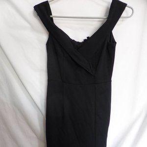 LULUS, s, small, black dress, zip back, BNWT